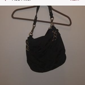 Coach signature hobo shoulder bag